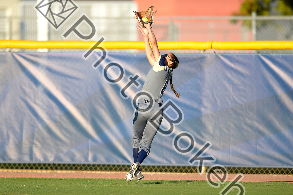 2015 February 13 - FIU's Dominique Grossman (6). Florida International University defeated Memphis, 3-2, at the Felsberg Field at the FIU Softball Stadium, Miami, Florida. (Photo by: Alex J. Hernandez / photobokeh.com) This image is copyright by PhotoBokeh.com and may not be reproduced or retransmitted without express written consent of PhotoBokeh.com. ©2015 PhotoBokeh.com - All Rights Reserved