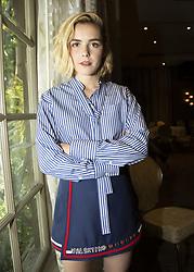 August 9, 2018 - Hollywood, CA, USA - Kiernan Shipka stars in the TV series The Chilling Adventures of Sabrina  (Credit Image: © Armando Gallo via ZUMA Studio)