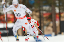 25.02.2015, Lugnet Ski Stadium, Falun, SWE, FIS Weltmeisterschaften Ski Nordisch, Falun 2015, Langlauf, Herren, 15km, im Bild MACIEJ KRECZMER // during the Mens 15km Cross Country Race of the FIS Nordic Ski World Championships 2015 at the Lugnet Ski Stadium in Falun, Sweden on 2015/02/25. EXPA Pictures © 2015, PhotoCredit: EXPA/ Newspix/ Radoslaw Jozwiak<br /> <br /> *****ATTENTION - for AUT, SLO, CRO, SRB, BIH, MAZ, TUR, SUI, SWE only*****
