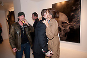 MARK EVANS; TYRONE WOOD; TRACEY EMIN, Mark Evans private view. Scream Gallery. Bruton st. London. 19 March 2010