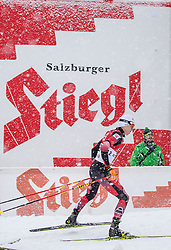 31.01.2016, Casino Arena, Seefeld, AUT, FIS Weltcup Nordische Kombination, Seefeld Triple, Langlauf, im Bild Mario Seidl (AUT) // Mario Seidl of Austria competes during 15km Cross Country Gundersen Race of the FIS Nordic Combined World Cup Seefeld Triple at the Casino Arena in Seefeld, Austria on 2016/01/31. EXPA Pictures © 2016, PhotoCredit: EXPA/ Jakob Gruber