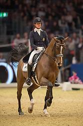 Verwimp Jorinde, (BEL), Tiamo<br /> Grand Prix Freestyle <br /> Reem Acra FEI World Cup Dressage <br /> London International Horse Show<br /> © Hippo Foto - Jon Stroud