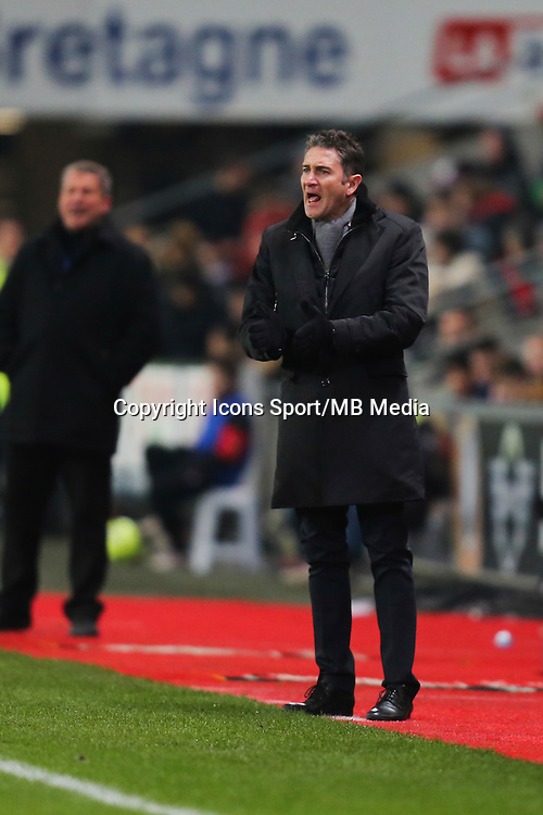 Philippe MONTANIER - 06.12.2014 - Rennes / Montpellier - 17eme journee de Ligue 1 -<br />
