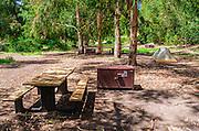 Scorpion Canyon Campground, Santa Cruz Island, Channel Islands National Park, California USA