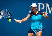 Monica Niculescu of Romania in action during the first round of the 2018 US Open Grand Slam tennis tournament, at Billie Jean King National Tennis Center in Flushing Meadow, New York, USA, August 28th 2018, Photo Rob Prange / SpainProSportsImages / DPPI / ProSportsImages / DPPI
