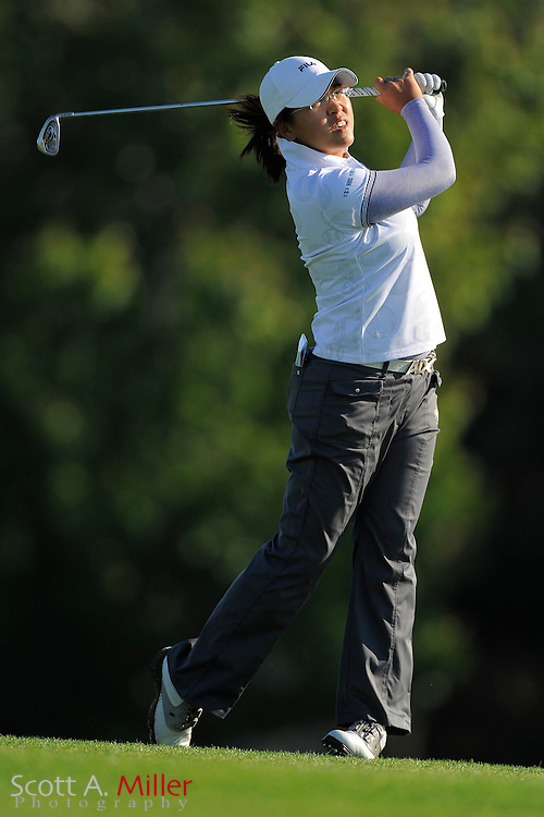 Tzu-Chi Lin during the final round of the LPGA Futures Tour's Daytona Beach Invitational at LPGA International's Championship Course on April 3, 2011 in Daytona Beach, Florida... ©2011 Scott A. Miller