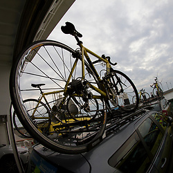 BORKUM (GER) wielrennen <br /> De slotetappe van de Energiewachttour 2016 werd verreden op het Duitse Waddeneiland Borkum. Impressies overtocht