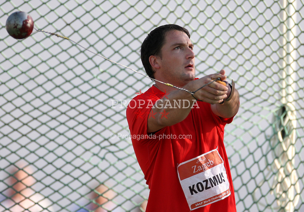 13.09.2011, Sportski Park Mladost, CRO, Athletics Meeting, IAAF World Challenge, Zagreb 2011, im Bild Primoz Kozmus // during Athletics Meeting, IAAF World Challenge, Zagreb 2011 at Sportski Park Mlados in Zagreb Croatia on 13/09/2011. EXPA Pictures © 2011, PhotoCredit: EXPA/ nph/ Pixsell +++++ ATTENTION - OUT OF GERMANY/(GER), CROATIA/(CRO), BELGIAN/(BEL) +++++