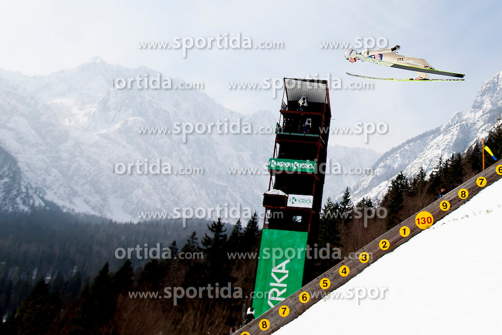 COLLOREDO Sebastian of Italy during the Flying Hill Team Event at 3rd day of FIS Ski Jumping World Cup Finals Planica 2013, on March 23, 2013, in Planica, Slovenia. (Photo by Urban Urbanc / Sportida.com)
