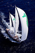 axia during the 2011  St. Barths Bucket Regatta Race 3.