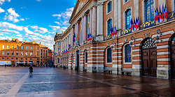 The Capitoleum in the Place du Capitol, Toulouse, France<br /> <br /> (c) Andrew Wilson | Edinburgh Elite media
