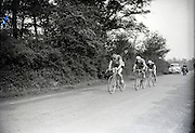 Tour de France in the French countryside 1940s or 50s