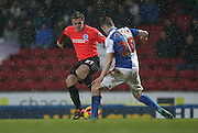 Brighton striker (on loan from Manchester United), James Wilson (21) during the Sky Bet Championship match between Blackburn Rovers and Brighton and Hove Albion at Ewood Park, Blackburn, England on 16 January 2016.