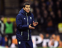 Football - 2017 / 2018 Premier League - Watford vs. Chelsea<br /> <br /> New Watford Manager, Javi Gracia, at Vicarage Road.<br /> <br /> COLORSPORT/ANDREW COWIE