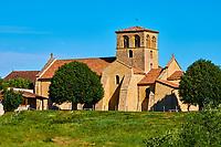 France, Saône-et-Loire (71), Iguerande, église romane Saint-Marcel, Brionnais // France, Burgundy, Saône-et-Loire, Iguerande, Saint-Marcel church, Brionnais