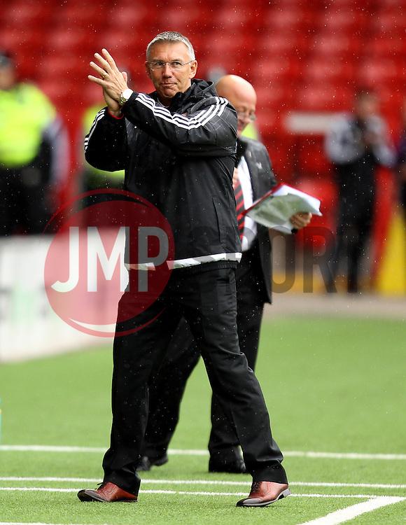 Sheffield United Manager Nigel Adkins - Mandatory by-line: Robbie Stephenson/JMP - 26/07/2015 - SPORT - FOOTBALL - Sheffield,England - Bramall Lane - Sheffield United v Newcastle United - Pre-Season Friendly