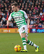 Picture by Tom Smith/Focus Images Ltd 07545141164<br /> 26/12/2013<br /> Joe Ralls of Yeovil Town during the Sky Bet Championship match at the Goldsands Stadium, Bournemouth.