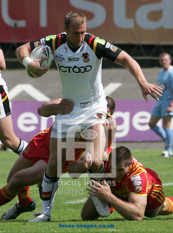 Bradford - Sunday, June 8th, 2008: Bradford's Michael Platt in action against Catalan Dragons during the Engage Super League match at the Grattan Stadium, Bradford. (Pic by Michael Sedgwick/Focus Images)