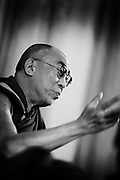 H.H. Dalai Lama during his visit in copenhagen - may 2009.