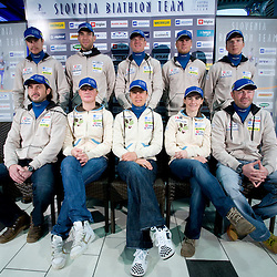 20081124: Biathlon - Press conference of Slovenian national team