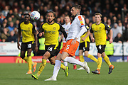 Luton Town defender Sonny Bradley during the EFL Sky Bet League 1 match between Burton Albion and Luton Town at the Pirelli Stadium, Burton upon Trent, England on 27 April 2019.