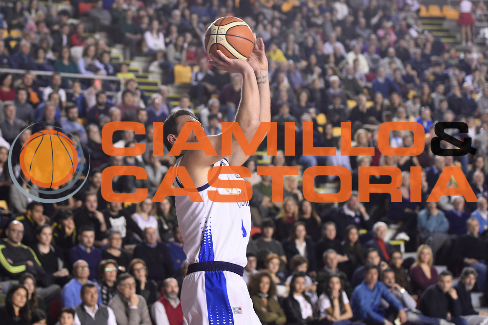 Alex Righetti<br /> Roma Gas &amp; Power Roma - Unicusano Roma<br /> Campionato Basket LNP 2016/2017<br /> Roma 12/03/2017<br /> Foto Ciamillo-Castoria