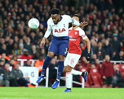 December 19, 2018 - London, England, United Kingdom - London, UK, 19 December, 2018.Tottenham Hotspur's Danny Rose.during Carabao Cup Quarter - Final between Arsenal and Tottenham Hotspur  at Emirates stadium , London, England on 19 Dec 2018. (Credit Image: © Action Foto Sport/NurPhoto via ZUMA Press)