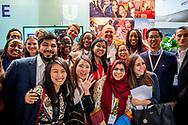 DEN HAAG   - Paul Polman Unillever congres One Young World The Hague. Bij dit internationale congres komen 1.800 jonge leiders samen om te debatteren en te werken aan innovatieve oplossingen voor mondiale problemen.  copyright robin utrecht