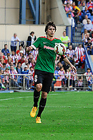 Athletic Club´s Ander Iturraspe during 2014-15 La Liga match between Atletico de Madrid and Athletic Club at Vicente Calderon stadium in Madrid, Spain. May 02, 2015. (ALTERPHOTOS/Luis Fernandez)