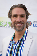 Bellmore, New York, USA. July 16, 2015. Actor LUKAS HASSEL is on the Red Carpet at the LIIFE Awards Ceremony at Bellmore Movies. Hassel was an award Presenter at the 18th Annual Long Island International Film Expo.