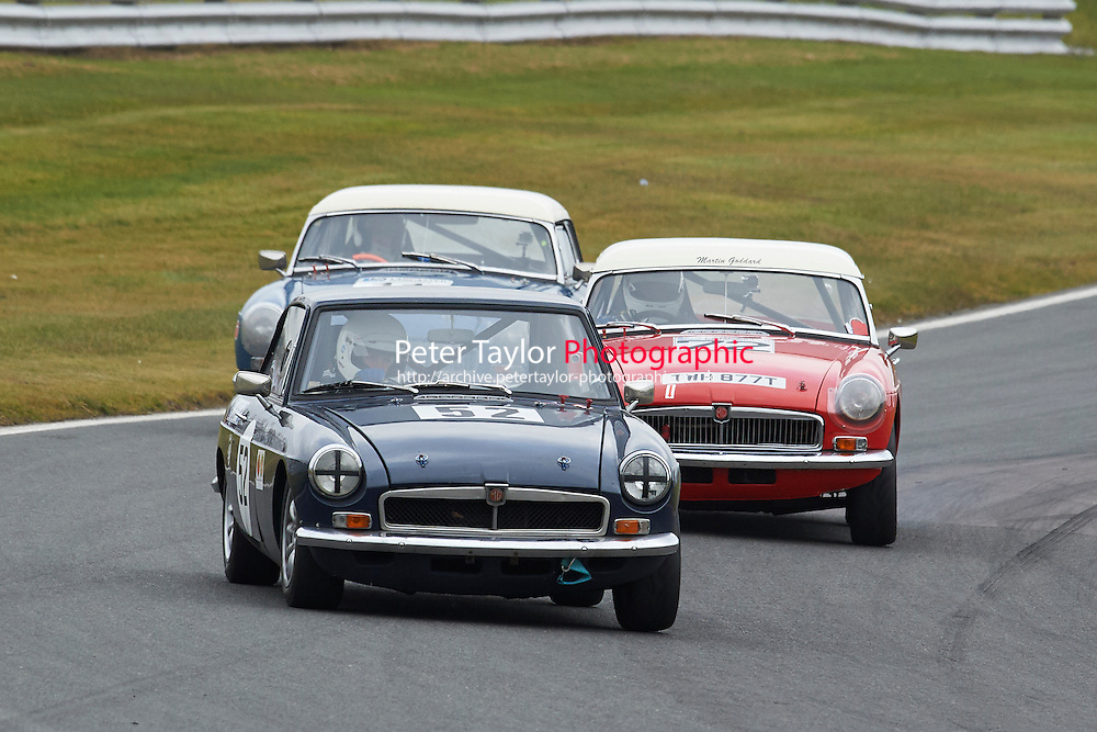 #52 Robert FISHER MG B GT 1600 during Lancaster Insurance MG Owners Club Championship as part of the BARC NW - Championship Raceday  at Oulton Park, Little Budworth, Cheshire, United Kingdom. March 19 2016. World Copyright Peter Taylor/PSP. Copy of publication required for printed pictures.  Every used picture is fee-liable. http://archive.petertaylor-photographic.co.uk