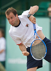 NOTTINGHAM, ENGLAND - Saturday, June 13, 2009: Greg Rusedski (GBR) on day three of the Tradition Nottingham Masters tennis event at the Nottingham Tennis Centre. (Pic by David Rawcliffe/Propaganda)