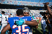 September 17, 2017: BUFvsCAR. Mike Tolbert and Fozzy Whittaker