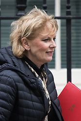 Downing Street, London, January 26th 2016. Minister for Small Business, Industry and Enterprise Anna Soubry leaves 10 Downing Street following the weekly Cabinet meeting. ///FOR LICENCING CONTACT: paul@pauldaveycreative.co.uk TEL:+44 (0) 7966 016 296 or +44 (0) 20 8969 6875. ©2015 Paul R Davey. All rights reserved.