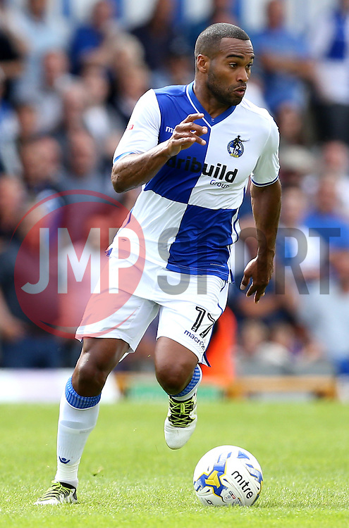 Jermaine Easter of Bristol Rovers runs with the ball - Mandatory by-line: Robbie Stephenson/JMP - 14/08/2016 - FOOTBALL - Memorial Stadium - Bristol, England - Bristol Rovers v Oxford United - Sky Bet League One