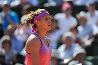 Lucie SAFAROVA  - 04.06.2015 - Jour 12 - Roland Garros 2015<br />Photo : Nolwenn Le Gouic / Icon Sport *** Local Caption ***