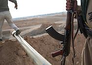 Iraq, Kurdistan, Kirkuk, kurdish peshmergas on the frontline