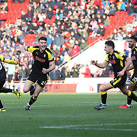 doncaster rovers vs Rotherham United, Keepmoat Stadium Doncaster, Saturday 11th November 2017<br />