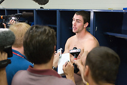 28 May 2007: Duke Blue Devils defenseman Ryan McFadyen (41) in the locker room after loosing to the Johns Hopkins Blue Jays 11-12 in the NCAA Championship at M&T Stadium in Baltimore, MD.