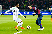 Angel Di Maria (psg) during the French Cup football match between Paris Saint-Germain and Marseille on February 28, 2018 at Parc des Princes Stadium in Paris, France - Photo Pierre Charlier / ProSportsImages / DPPI