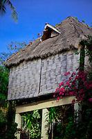 Traditonal style beachhouse Boracay Island, Philippines.