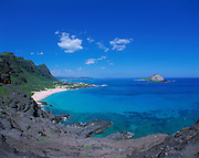 Mapapu'u Beach, Oahu, Hawaii, USA<br />