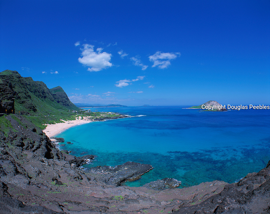 Mapapu'u Beach, Oahu, Hawaii, USA<br />