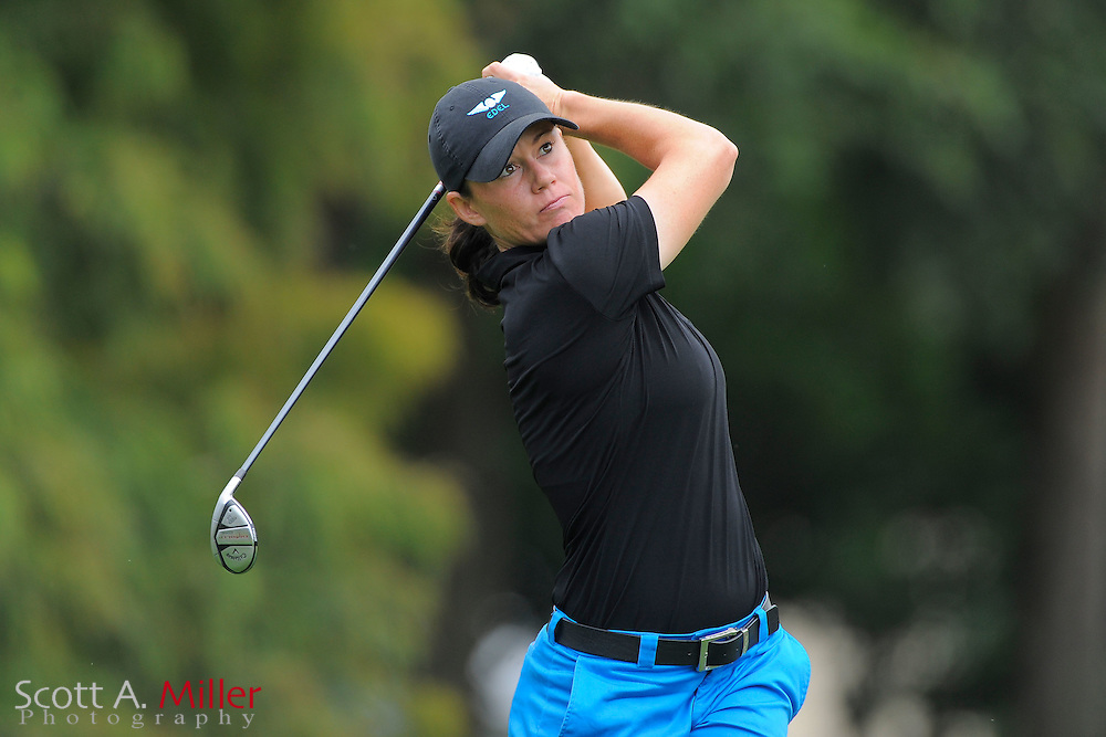 Katie Futcher during the first round of the CME Group Titleholders at Grand Cypress Resort on Nov. 17, 2011 in Orlando, Fla.  ..©2011 Scott A. Miller