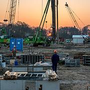 Project fotografie bouw Prinses Máxima Centrum, gestart februari 2016 te Utrecht