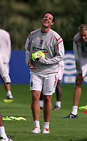 Photo: Paul Thomas.<br /> England Training Session. 01/09/2006.<br /> <br /> Wayne Bridge.