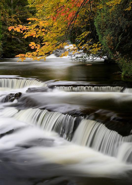 Upper Bond Falls<br /> Michigan's Upper Peninsula