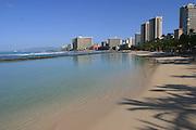 Waikiki Beach, Waikiki, Oahu, Hawaii, USA