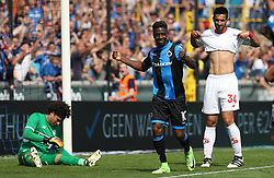 August 27, 2017 - Brugge, BELGIUM - Club's Abdoulay Diaby celebrates after scoring during the Jupiler Pro League match between Club Brugge and Standard de Liege, in Brugge, Sunday 27 August 2017, on the fifth day of the Jupiler Pro League, the Belgian soccer championship season 2017-2018. BELGA PHOTO VIRGINIE LEFOUR (Credit Image: © Virginie Lefour/Belga via ZUMA Press)