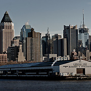 Pier 94 Cunard Line on the Hudson River